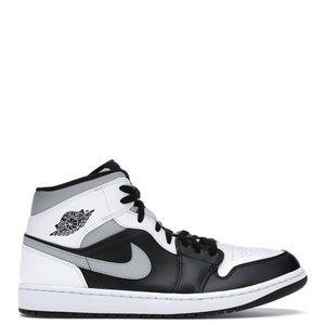"🐼*NEW* Air Jordan 1 Mid ""White Shadow"" (Sz 10)"